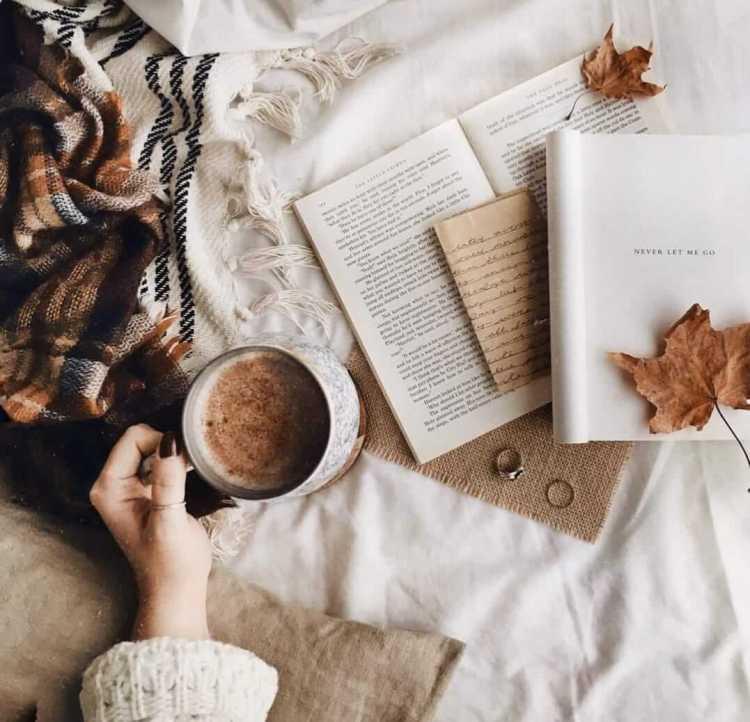 Acurrucaíta entre libros